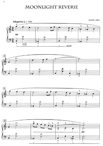 martha mier sheet music pdf