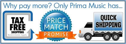 Prima Music Price Match Promise for Piano Music Teachers - The lowest price on sheet music, guaranteed!