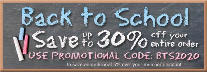Back to School Promotion at Prima Music - Piano Music Teachers save up to 30% on over 1.4 million items - Sheet Music and more!