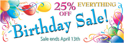 Prima Music's Birthday Sale - Piano Music Teachers save 25% on over 1.4 million items with free shipping - Sheet Music and more!