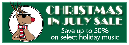 Christmas in July Sale at Prima Music - Piano Music Teachers save 30% on the entire library - Sheet Music and more!
