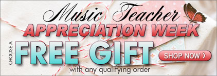 Music Teacher Appreciation at Prima Music - Piano Music Teachers save 25% on over 1.4 million items with free shipping - Sheet Music and more!