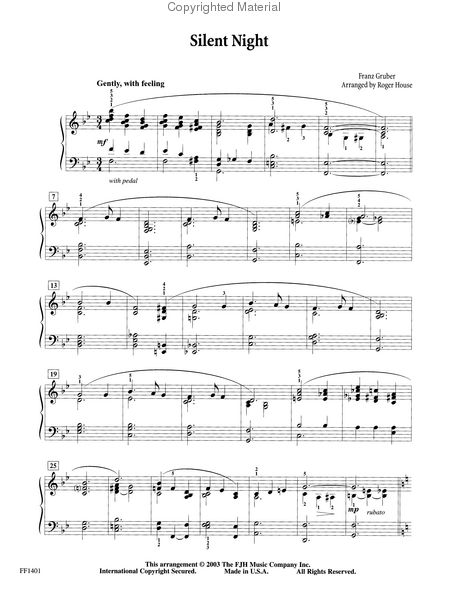 FJH Sacred Piano: A Smooth Jazz