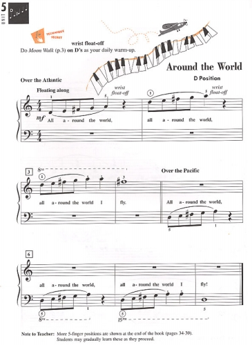 Piano Adventures - Technique & Artistry Book - Level 2A
