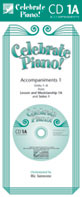 Celebrate Piano! - CD Accompaniments 1A