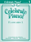 Celebrate Piano! - Flashcards 2 by Cathy Albergo, J. Mitzi Kolar, Mark Mrozinski - Stipes Publishing - Prima Music Cover