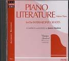 Piano Literature - Vol. 3 CD