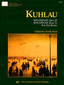 Kuhlau: Sonatinas, Opus 20 & Sonatinas, Opus 55  (book only)