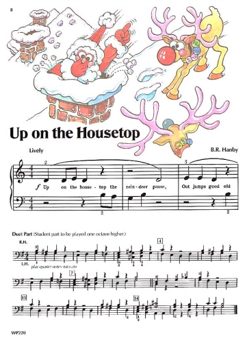 Popular Christmas Songs - Primer Sheet Music by James Bastien - Neil A. Kjos Music Company ...